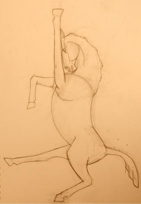 Capoeira Horse