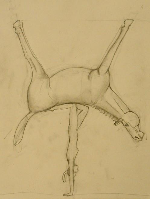unfinished sketch
