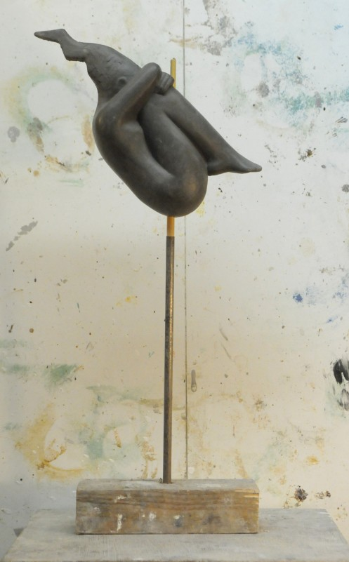 sculpture on a stick